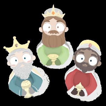 Cartas personalizadas ilustradas de los reyes magos a tus hijos