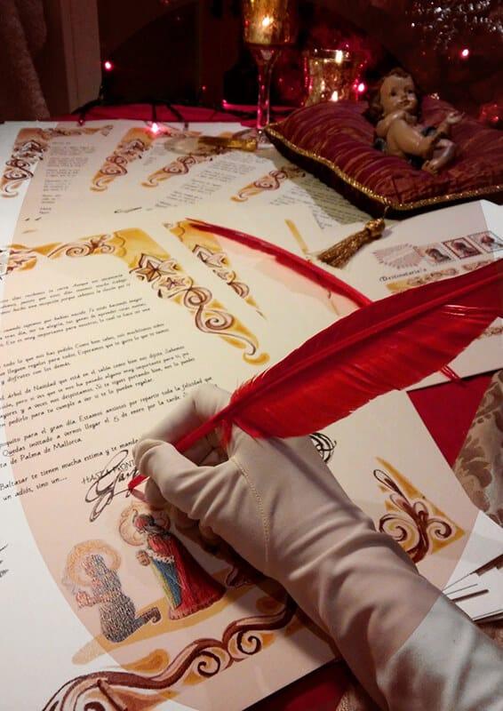 Carta de los reyes magos personalizada para los niños